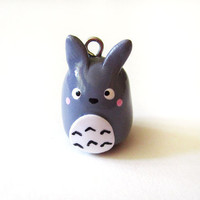 My Neighbor Totoro Cell Phone Charm by MadAristocrat on Etsy