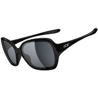 Oakley Overtime Women's Active Lifestyle Sunglasses/Eyewear - Polished Black/Grey / One Size Fits All : Amazon.com : Automotive