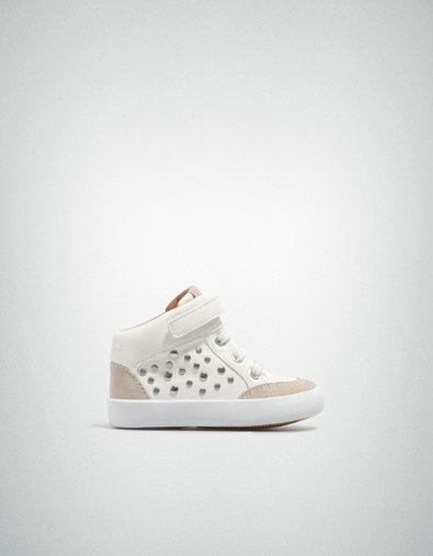 Trendy basketball shoes Baby girl New from ZARA