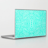Radiate (Mint) Laptop & iPad Skin by Jacqueline Maldonado | Society6