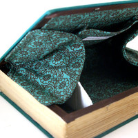 Vintage Book Clutch - Book Purse - The Obscene Bird of Night
