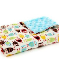 One Kings Lane - Beautiful Baby Gifts - Tourance Owls Baby Blanket