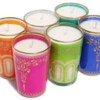 One Kings Lane - Gifts Galore - Market Street Moroccan Candle Set