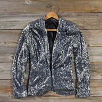 Holiday Dazzle Sequin Jacket, Sweet Bohemian Clothing