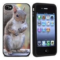 Rubber Squirrel iPhone 4 or 4s Case / Cover Verizon or At&T