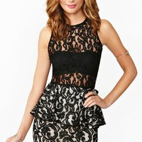 Panther Lace Dress