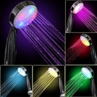 7 COLOR LED SHOWER HEAD ROMANTIC LIGHTS WATER HOME BATH - Xmas day