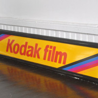 Kodak Film Sign by thewhitepepper on Etsy