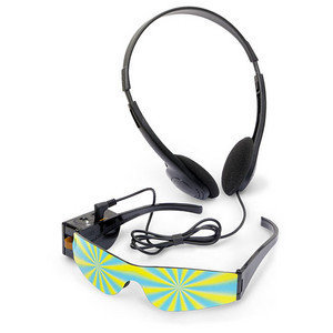 ThinkGeek :: Trip Glasses