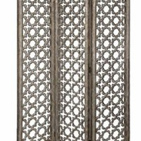 Uttermost 24181 - Quatrefoil Floor Screen - Room Dividers - Living Room Furniture - Home Decor