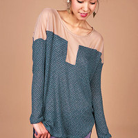 Veil Knit Top | Trendy Knits at Pink Ice