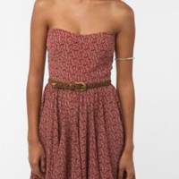 UrbanOutfitters.com &gt; Greylin Printed Strapless Dress