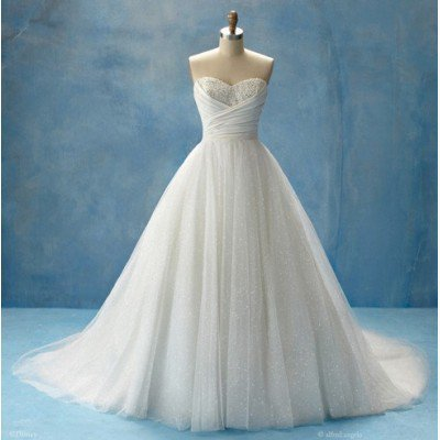Brideswardrobe Wedding Dress - Elegant Strapless beading long wedding... - StumbleUpon