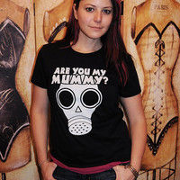 The Empty Child, (Are you my Mummy).  Women's fitted American Apparel LARGE