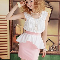 Graceful Elegant Flouncing One Step Skirt  -  BuyTrends.com