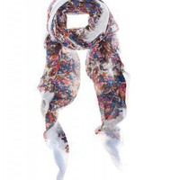 mytheresa.com - Marc by Marc Jacobs - PRINT SCARF - Luxury Fashion for Women / Designer clothing, shoes, bags