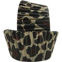 Amazon.com: Regency Greaseproof Baking Cups, Leopard, standard, 40 count: Kitchen & Dining