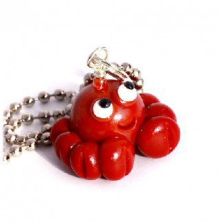Happy Crab Necklace - Girlzlyfe.Com