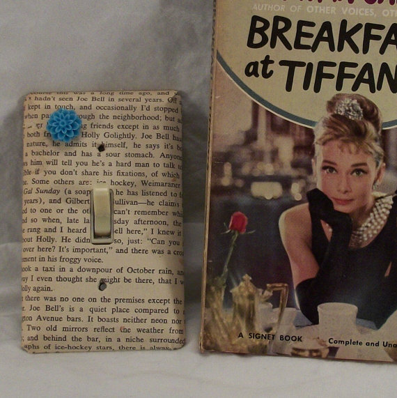 Breakfast at Tiffany&#x27;s Lightswitch Cover or Outlet Cover