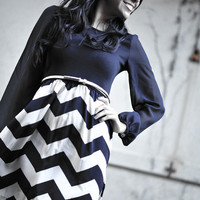 RESTOCK Let Me See Your Chevron Dress | Hope's