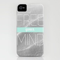 Free Your Mind || iPhone Case by Galaxy Eyes | Society6