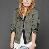 Free People We The Free Military Jacket