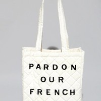 Pardon our french quilted bag [5pr6283] - &amp;#36;59 : Pixie Market, Fashion-Super-Market