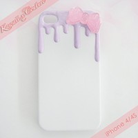 Lilac Frosting iPhone 4/4S Case
