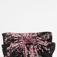 RED Valentino 'Lily of the Valley' Bow Clutch | Nordstrom