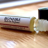 Bonfire Perfume Oil Perfume Oil Vegan Perfume Oil by LittleBatch