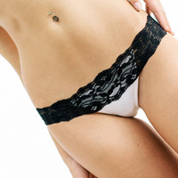 Lingerie Panties - Comfortable Lace Thong Underwear
