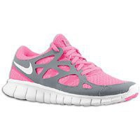 Amazon.com: NIKE Free Run+ 2 Women's Running Shoes, Pink Flash/White/Cool Grey: Shoes