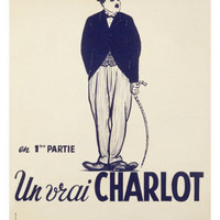 Charlie Chaplin Giclee Print at Art.com