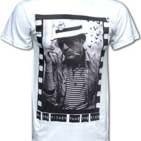 Hunter S Thompson T Shirt (Buy The Ticket, Take The Ride) Fear n' Loathing Bat Country Tee