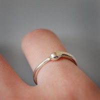 Silver Ouroboros Ring by nadinessra on Etsy
