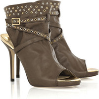 Jimmy Choo Zoe cutout eyelet ankle boot - $295.00