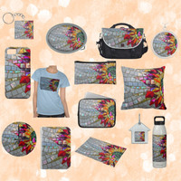 Floral Mosaic Designs on Zazzle