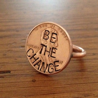 Penny Ring (Twisted) 'Be The Change' Edition - Customizable