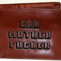Pulp Fiction - Bad Mother F*cker Wallet (Genuine Leather Version) (Size: 4.5