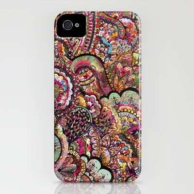 her hair - les fleur edition iPhone Case by Bianca Green | Society6