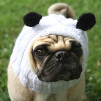 Dog Hat  Playful Panda Hat by jessicalynneart on Etsy