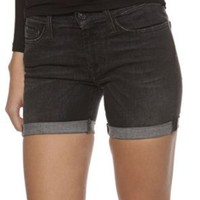 Amazon.com: 7 for all mankind Jeans Shorts GWENEVERE, Color: Anthracite, Size: 27: Clothing