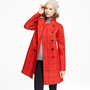 Women's outerwear - trenches - Mackintosh?- Rousay tattersall coat in wool - J.Crew