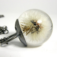 [sold out] Dandylion Pendant Small by sisicata on Etsy