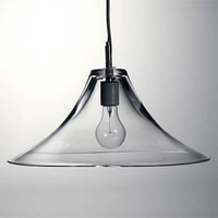 simon pearce glass lamp pendant
