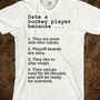 Date a hockey player.