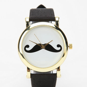 Urban Outfitters - Mustache Watch