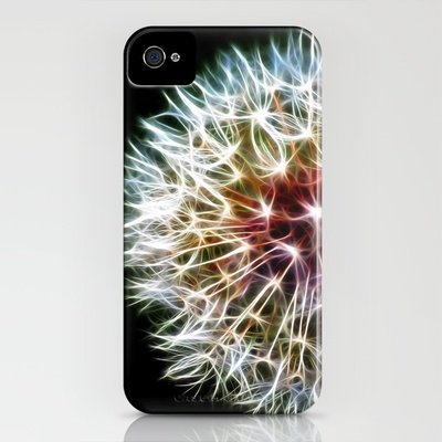 Fractal dandelion iPhone Case by Mark Nelson | Society6