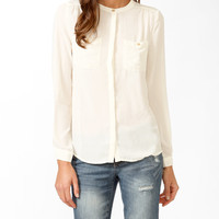 Essential Relaxed Pocket Blouse