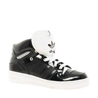 Adidas Attitude Logo Heart Black Trainers at asos.com